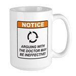Doctor / Argue Large Mug