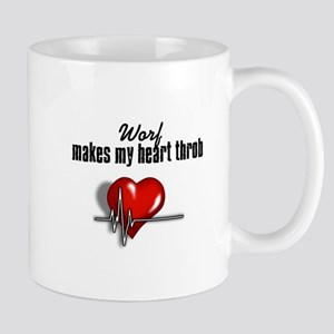 Worf makes my heart throb Mug