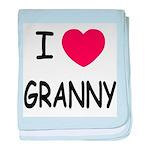 I heart granny baby blanket