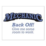 Mechanic / Back Off Small Poster