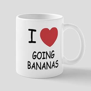 I heart going bananas Mug