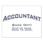 Accountant - Work Small Poster