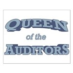 Queen Auditor Small Poster