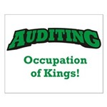 Auditing / Kings Small Poster