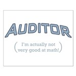 Auditor - Math Small Poster