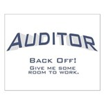 Auditor - Work Small Poster