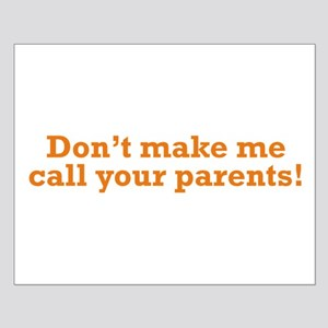 Call your Parents Small Poster