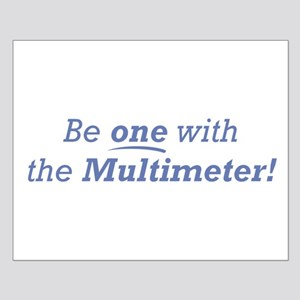Multimeter / Be one Small Poster
