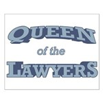 Queen Lawyer Small Poster