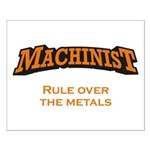 Machinist / Metals Small Poster