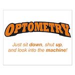Optometry / Machine Small Poster