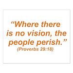 No Vision Small Poster