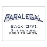 Paralegal / Back Off Small Poster