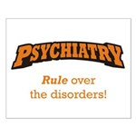 Psychiatry / Disorders Small Poster