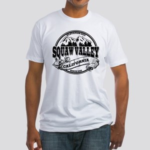 Squaw Valley Old Circle Fitted T-Shirt