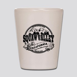Squaw Valley Old Circle Shot Glass