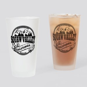 Squaw Valley Old Circle Drinking Glass