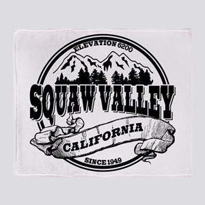 Squaw Valley Old Circle Throw Blanket