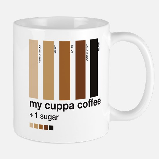 My Cuppa Coffee - 1 Sugar Mug