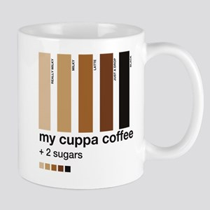 My Cuppa Coffee- 2 Sugars Mug
