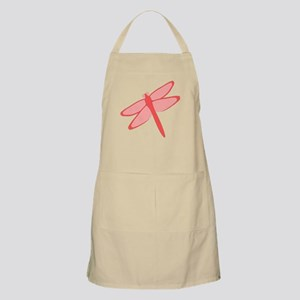 Red Dragonfly Design Apron