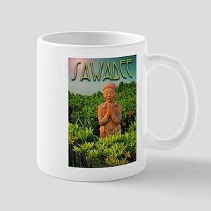 Sawadee hello in Thailand Mug