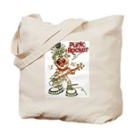 Punk Rocker Tote Bag