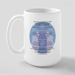 Wolf Wisdom Large Mug