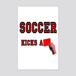 Red Card Mini Poster Print