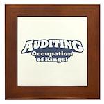 Auditing / Kings Framed Tile