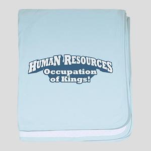 Human Resources / Kings baby blanket
