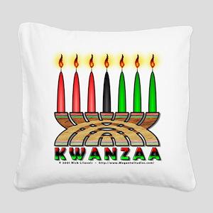 Kwanzaa Square Canvas Pillow