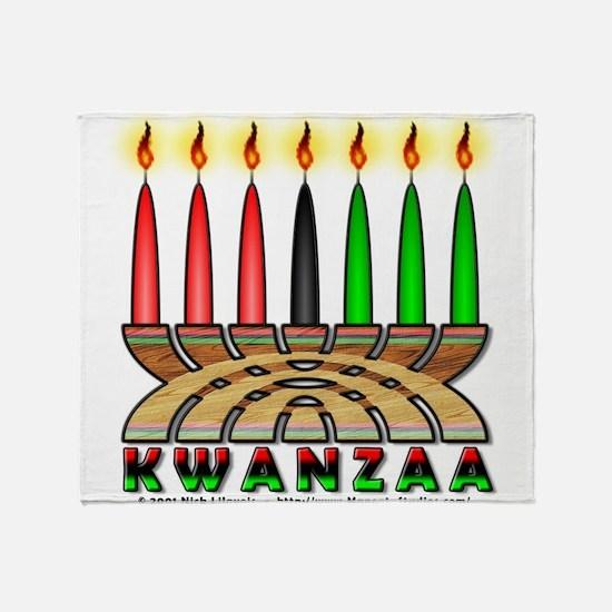 Kwanzaa Throw Blanket