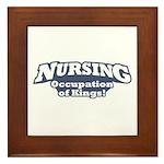 Nursing / Kings Framed Tile