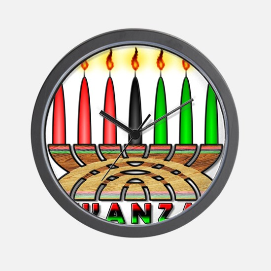Kwanzaa Wall Clock