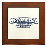 Optometry / Kings Framed Tile