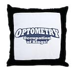 Optometry / Kings Throw Pillow