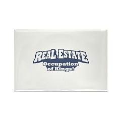 Real Estate / Kings Rectangle Magnet (100 pack)