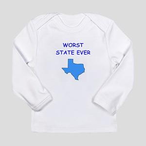texas Long Sleeve Infant T-Shirt