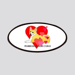 Pembroke Welsh Corgi Patches