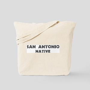 San Antonio Native Tote Bag
