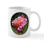 Pink Peony Flower Mug #2
