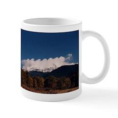 Billow Clouds On Mt. Shasta Mug Mugs