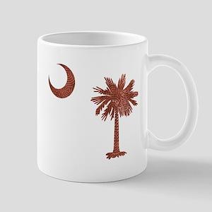 South Carolina Palmetto Flag Mug