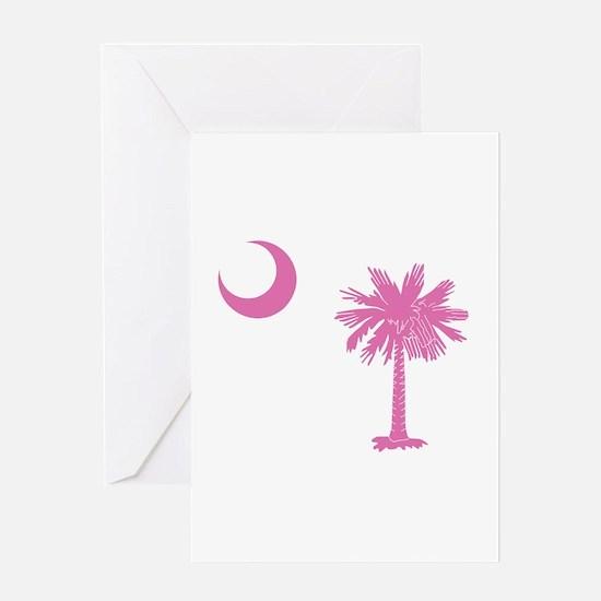 South Carolina Palmetto Flag Greeting Card