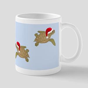 Santa - Christmas Turtle Mug