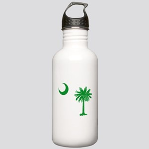 South Carolina Palmetto Flag Stainless Water Bottl