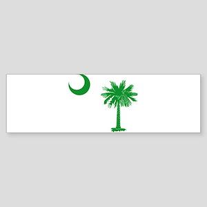 South Carolina Palmetto Flag Sticker (Bumper)