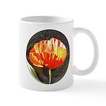 Oriental Red Poppy Mug