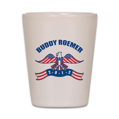Eagle Buddy Roemer Shot Glass